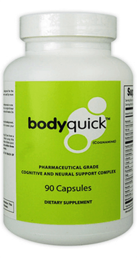 BodyQuick capsules supplement bottle