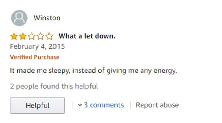 A negative Amazon Review of Brain Candy